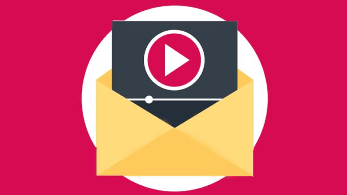 video στο email